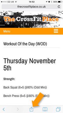 iphone wod2